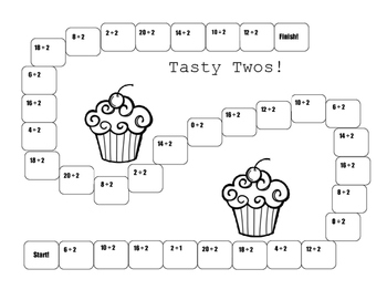 Tasty Two Division Timed Test