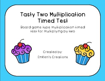 Tasty Two Multiplication Timed Test