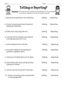 Tatting vs Reporting Test/Quiz (Common Core)