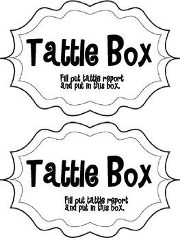 Tattle Box Sign