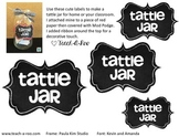 Tattle Jar Label Freebie!