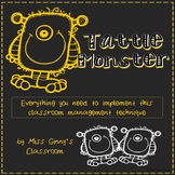 Tattle Monster Classroom Management Packet