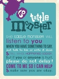 Tattle Monster Printable