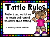 Tattle Rules- Back to School Problem Solving