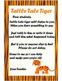 Tattle Tale Classroom poster