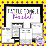 Tattle Tongue Companion Packet