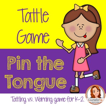 Pin the Tongue: A Tattle Tongue Game