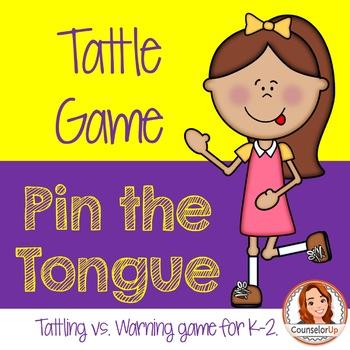 Pin the Tongue: A Tattle Tongue Game