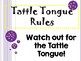 Tattle Tongue Rules Posters