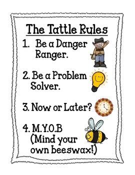 Tattle Tongue Tattle Rules