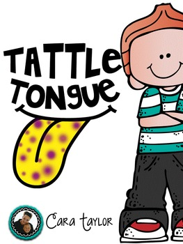 Tattle Tongue for Back to School