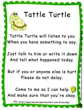 Tattle Turtle Behavior Management Set