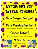 Tattle tounge poster