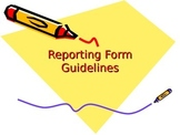 Tattling Form and Powerpoint