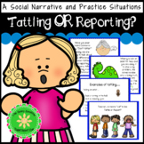 Problem Solving with Tattling OR Reporting?