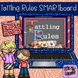 Tattling Rules:  When It's My Business, When to Report SMARTboard Lesson