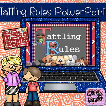 Tattling Rules:When it's My Business, When to Report PowerPoint