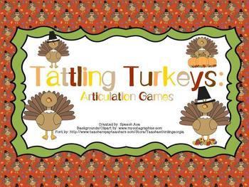 Tattling Turkeys: Articulation Games