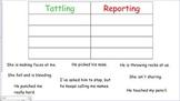 Tattling Versus Reporting SmartBoard Activity