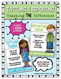 Tattling and Report (Class Management) Teaching the Difference
