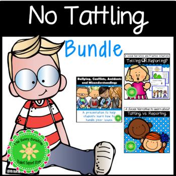 No More Tattling BUNDLE