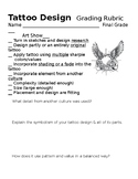 Tattoo Design Art Lesson Papers