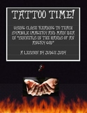 """Tattoo Time! Fun and Imagery with """"Sinners in the Hands..."""""""