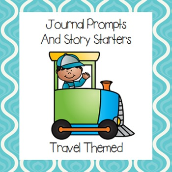 Tavel Themed Journal Prompts and Story Starters