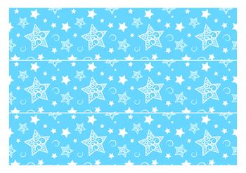 Tavleborder Stjerner