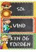 Tavlekort - Været (BM & NN)