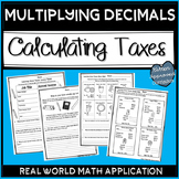Decimal Operations Review Real Life Math Projects 5th Grade