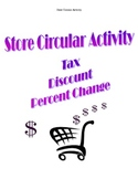 Tax, Discount, Percent Change Shopping Activity