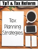 Tax Planning Strategies for TpT Sellers