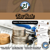 Tax Rate -- Financial Literacy Percent Project