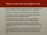 Tax Scavenger Hunt