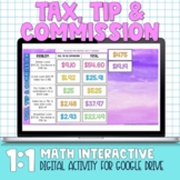 Tax, Tip and Commission for Distance Learning
