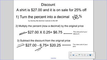 Tax Tip and Discount Guide