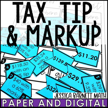 Tax, Tip, and Markup Matching Activity