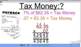 Tax, Tip, and Total Cost (Percents) Number Sense 1.4