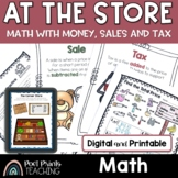 Money and Tax Word Problems, Distance Learning, Google Classroom