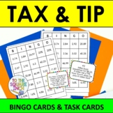 Tax and Tip Bingo