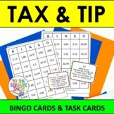 Tax and Tip Bingo