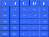 Taxation Without Representation Jeopardy!