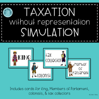 Taxation without Representation Simulation