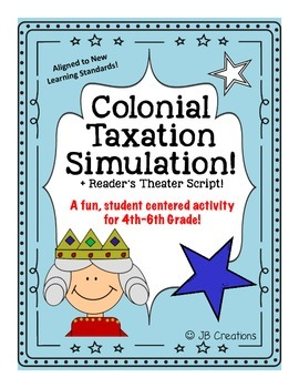 Taxation without Representation!  Simulation & Reader's Theater (4th-6th grade)