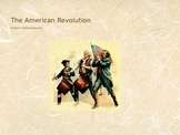 Taxation without Representation and the American Revolution