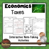 Taxes - Interactive Note-taking Activities