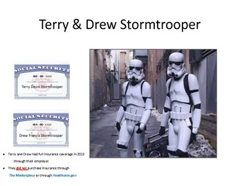 Taxes : Terry and Drew Stormtrooper