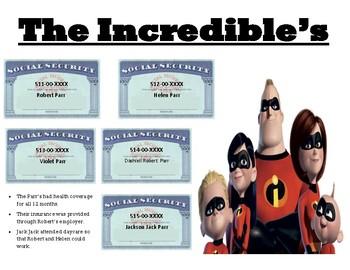 Taxes : The Incredibles