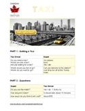 Taxi ESL Worksheet